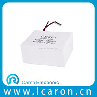 Electronic components motor run capacitor cbb61 15uf 450vac for ceiling fan