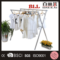 2015 hot selling Folding X-type stainless steel balcony clothes dryer
