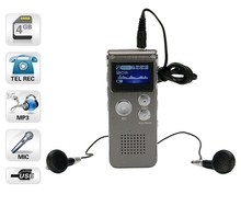 4GB mp3 recorder device + FM function