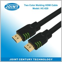 2015 HDMI cable with gold plated high speed support 2.0v 1.4v