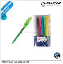 Tattoo Gel Promotional Pen 5-Pack (Digitally Printed) (Lu-Q61194)