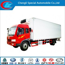New design FAW 160HP 4X2 Brandnew Refrigerator Truck Chill Car