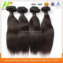 Wholesale 5A Vrigin Brazilian Hair Extension Cheap Human Silk Straight Peruvian Vrigin Hair Extension Grade 5A Remy Human Hair