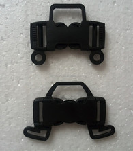 2015 cheap price POM material multi side plastic buckle quick release buckle