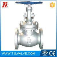 ansi125/150 flange type bs 1873 globe valve good quality