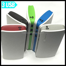 Multiple Colors High Capacity of 15000mAh Portable Battery With USB 3.1A