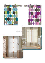 Canada 100% cotton canvas one way curtains for home