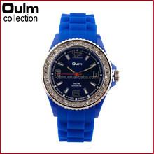 New design quartz diamond brand silicone watch blink blink