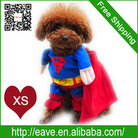 XS Size Dog Winter Change Superman Pet Clothes Lincarnations Loaded Jumbo Factory Produce Fast Shipping