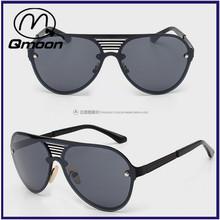 black vintage retro european custom logo connection sunglasses