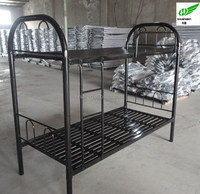 double steel bed bunk beds for hostels