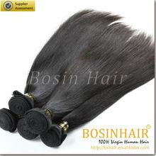 7A grade wholesale virgin remy straight brazilian hair