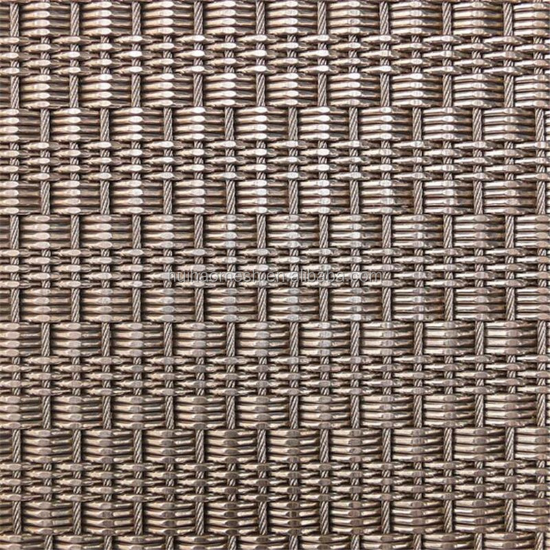 Decorativos de metal flexible cable/cuerda cortina de malla para ...