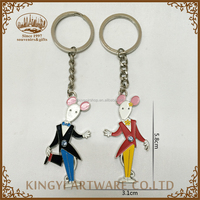 no complaint metal foil cheap custom keychains no minimum