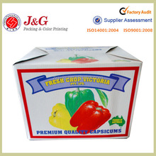 17 years factory white paper box for fruit &vegetable