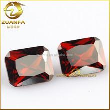 wuzhou loose wholesale dark garnet cz for silver jewelry making