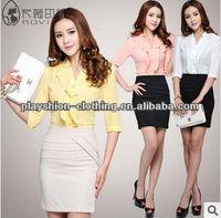 Ladies Designer Suits And Dresses Women Fashion OL Suit Dress Wholesale