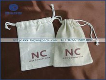 customized drawstring pouch fabric small