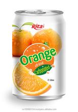 Carbonated Orange Fruit Juice