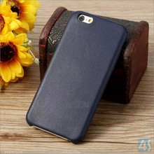 High Quality Leather Case for iPhone 6, For iPhone 6 Case With Genuine Leather/PU Leather Back Cover Optional