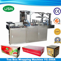 Heat sealing Automatic Box Cellophane Wrapping Machine