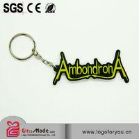 customized soft pvc keychain
