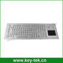 De Metal larga de viaje <span class=keywords><strong>teclado</strong></span> quiosco con <span class=keywords><strong>teclado</strong></span> numérico y <span class=keywords><strong>Touch</strong></span> pad