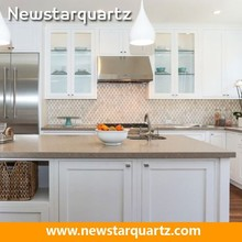 moderno unità dispensa della cucina tavolo in pietra di quarzo cucine cina
