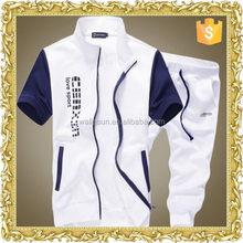 Fashion cotton spandex fleece European style men's jacket