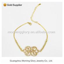 10k gold fashion fertility bracelet
