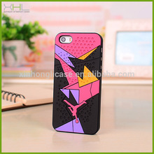 Textured rubber Jordan sneaker bottom phone case for IPHONE 6