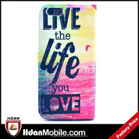 Shenzhen mobile phone accessories for iphone 6 flip leather case