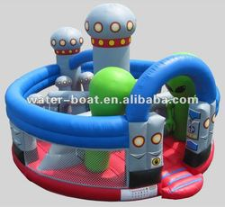 Hot sale Inflatable robot/alien bouncer inflatable toy