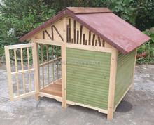 100% KD dog house wood