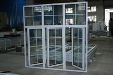 Wholesale aluminium casement window with window grill
