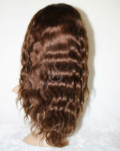 16-34inch in stock virgin malaysian hair lace front wigs for small headwith bangs