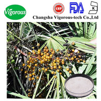 saw palmetto fruit extract/pharmaceutical grade saw palmetto extract powder/saw palmetto berry extract Fatty Acids 25% 45%
