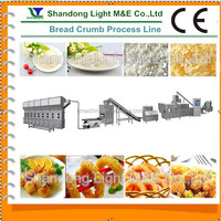 Fully Automatic Extruded Yellow Panko Bread Crumb Making Line