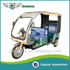 Factory Supply eco Friendly Stable Performance Elegant Six Seated electric tricycle for passenger