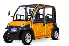 beautiful high quality battery car with four passenger