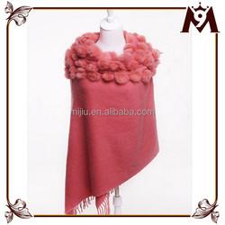 2015 wholesale upscale pure color women wool plain scarf shawls