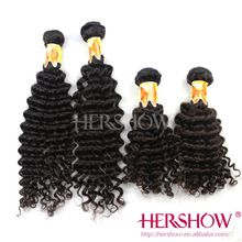 Factory Price Large Stocks All Length Available Peruvian Hair Deep Wave hair extension No tangle No shedding