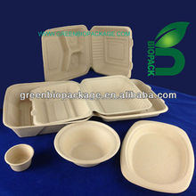 Biodegradable Sugarcane Pulp Box