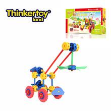 Thinkertoy artesanos universales ciudad constructor bloques del alzamiento industrial coche de juguete