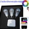 Multi-color wifi control e27 magic lighting led light bulb and remote,mi. light wifi bulb