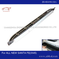 Hyundai IX45 side steps,running board for Hyundai ALL NEW SANTA FE,motor foot plate/pedal plate
