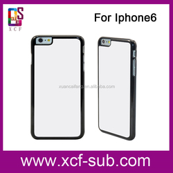 Latest Fashion for iphone Hard Blank Phone Cover, 3D Sublimation Printing cover for iphone 6