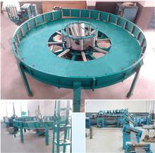 2015 hot sale New type Horizontal spiral accumulator