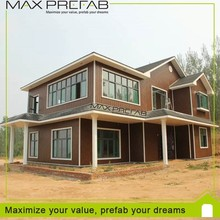 Low cost EPS material canadian prefabricated wood house