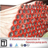 construction machinery parts DN125 double layer concrete harden pipe